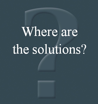 Where Are The Solutions