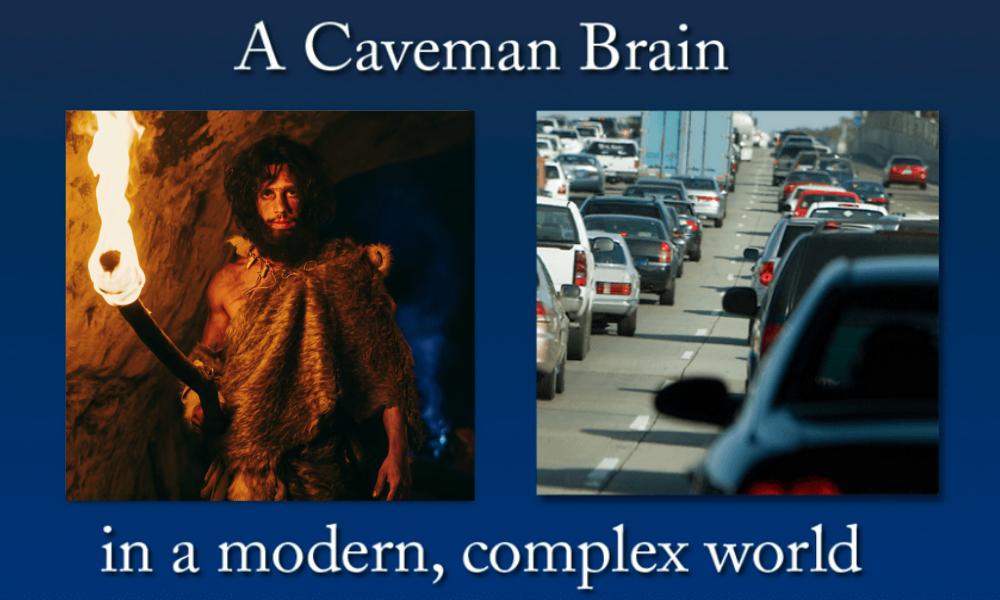 brain fitness and learning caveman brain