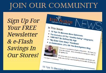 everageless newsletter signup