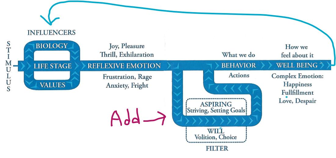 stress management filter flow chart
