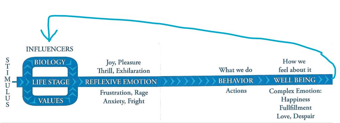 stress management flow chart