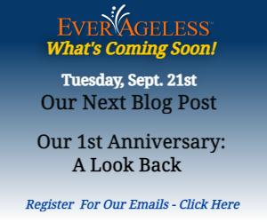 everageless blog 1st anniversary